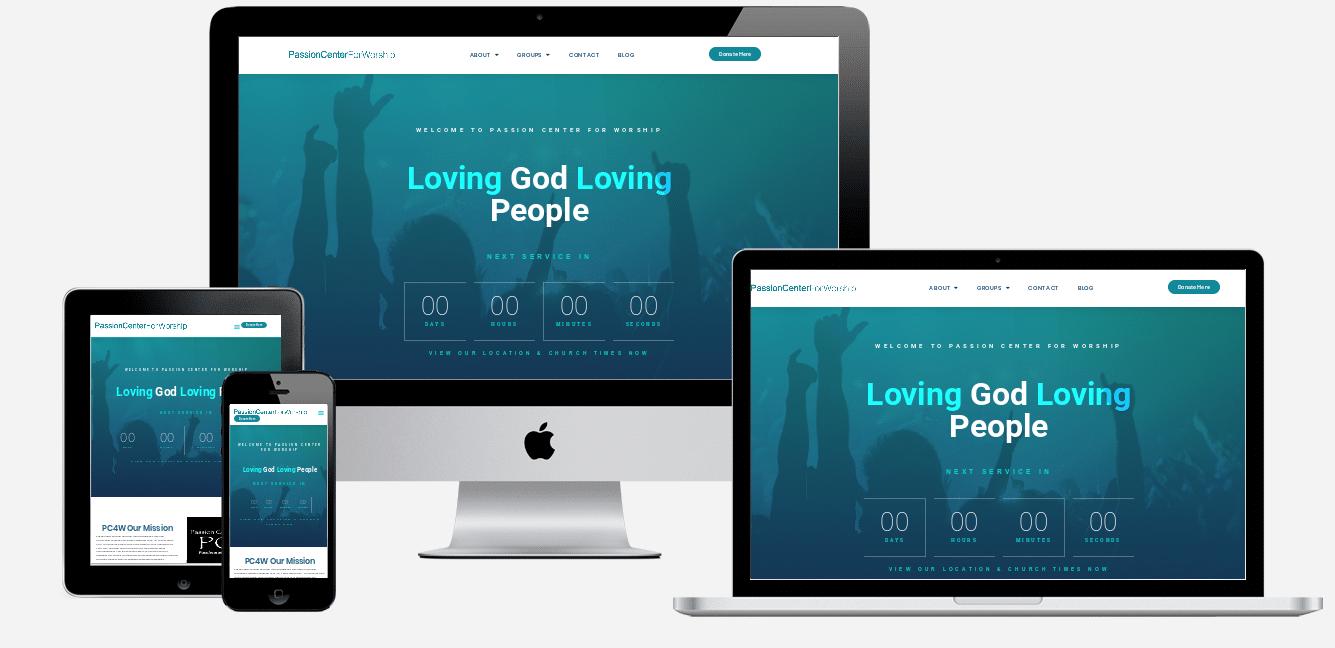 PC4W website design holiday florida website designers