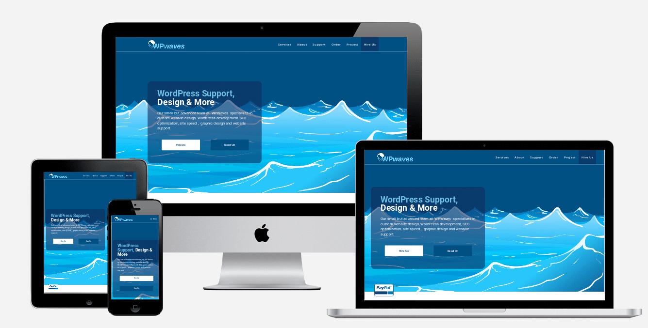 wp waves website design holiday florida website designers