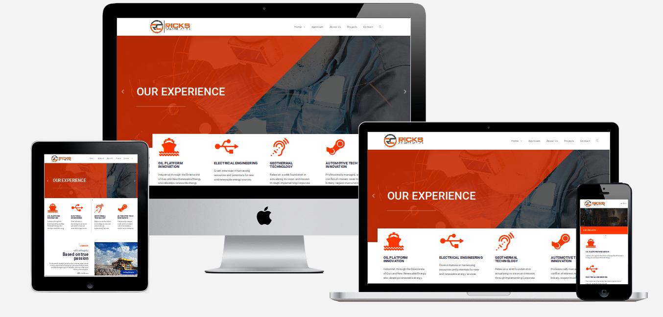 Construction website design holiday florida website designers