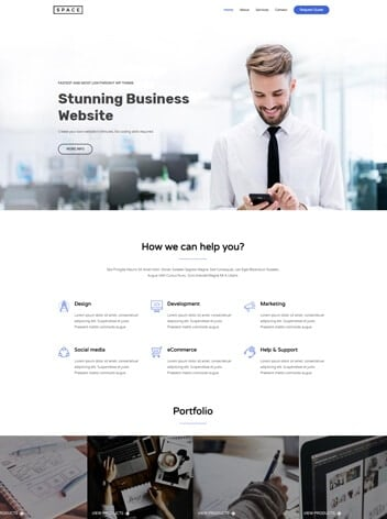 agency website design wp website lab holiday florida web designer