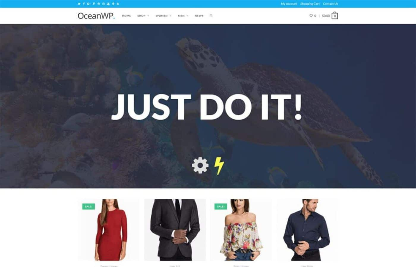 Oceanwp theme wordpress theme download image wp website lab